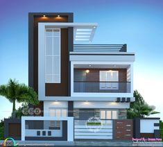House Arch Design, 3 Storey House Design, Architect Design House, House Outside Design, Architectural Design House Plans, Kerala House Design, Home Building Design, Bungalow House Design, Best Modern House Design