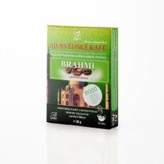 DNM Ájurvédské kafe Brahmi s příchutí mocca 50 g