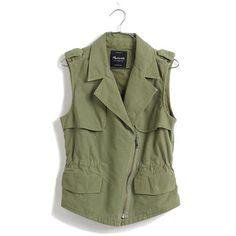 Madewell // Modern Safari Vest