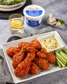 When you dip, I dip, we dip! We're celebrating the big game today with a blue cheese dip made with our Original Sour Cream that is sure to win you over🏈 Blue Cheese, Big Game, Tandoori Chicken, Sour Cream, Dips, Favorite Recipes, Eat, Ethnic Recipes, Food