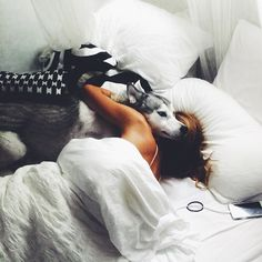 """Waking up to my boy "" Photo taken by @sjanaelise on Instagram, pinned via the InstaPin iOS App! http://www.instapinapp.com (01/17/2015)"