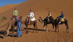 From Home To Roam  » Ouarzazate, Merzouga, Sahara camel trek – Morocco 2007