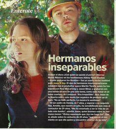 Scan of People en español article about Jesse y Joy. Spanish Music, Ap Spanish, Spanish Culture, Spanish Teacher, Spanish Classroom, Teaching Spanish, Teaching Music, Teaching Reading, Latina