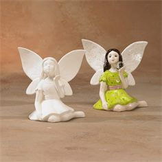 GARE BISQUE FAIRY WISHING - Ceramic Arts