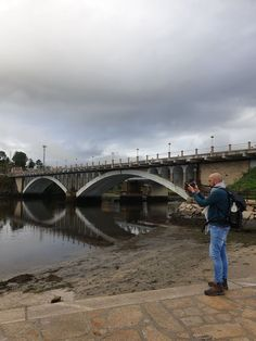 Alberto Ribas - Caminho Português de Santiago © Viaje Comigo Bridge, Spain, Camino De Santiago, Traveling, Bridges, Attic, Bro