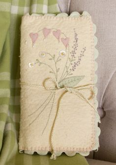 Hand Embroidery Pattern - Arlyn's Embroidery Envelope - Crabapple Hill Studio