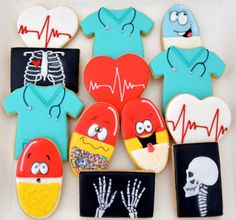 This listing is for 12 vegan medical themed sugar cookies. Have a doctor or medical staff you would like to thank? Or perhaps someone you love