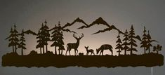 """Figure out even more relevant information on """"metal tree art projects"""". Have a look at our website. Metal Tree Wall Art, Metal Art, Deer Family, Family Wall, Scroll Saw Patterns, Art Mural, Pyrography, Cool Lighting, Metal Walls"""