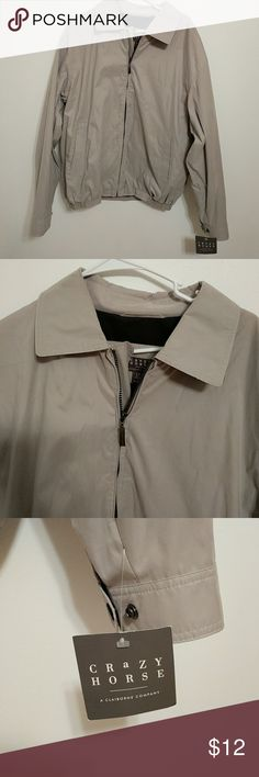 Crazy Horse jacket for men This town jacket zips up and has to Side Pockets. Liz Claiborne Jackets & Coats