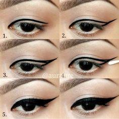 Tips Memakai Eyeliner Untuk Pemula