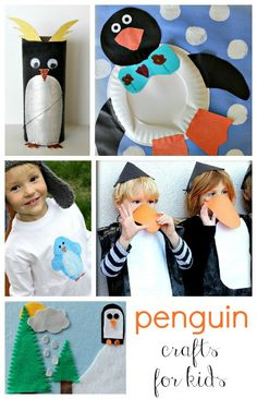 Penguin Awareness Day Crafts and Activities for Kids | Rusty and Rosy