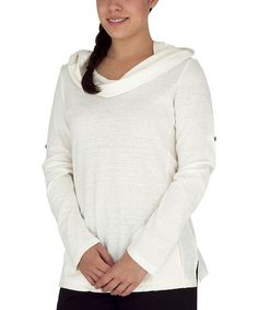 Loving this Créme Organic Cowl Neck Top on #zulily! #zulilyfinds