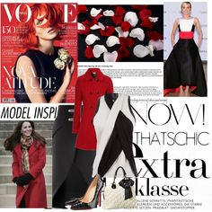 """Red Coat contest"" by kginger on Polyvore"