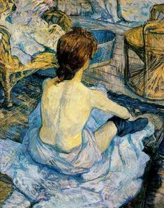 Montmartre by Henri de Toulouse-LautrecSome of the greatest art has suffered most under its own success. The illustrative works of Henri de Toulouse-Lautrec, well known through the mass printed repr Henri De Toulouse Lautrec, Renoir, Monet, Art Conceptual, Toilet Art, Art Gallery, Art Vintage, Edgar Degas, Oil Painting Reproductions