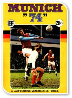 Munich 1974, X Campeonatos Mundiales de Futbol Fifa World Cup, Munich, Baseball Cards, Sports, Soccer, World Championship, Magick, Champs, Trading Cards