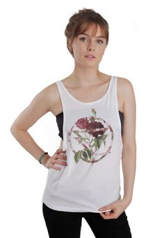 Order The Ghost Inside - Rose White - Loose Tank by The Ghost Inside for £16.99 (3/24/2016) at the Impericon UK  online shop for an affordable price.