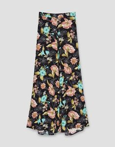 Palazzo trousers - Trousers - Clothing - Woman - PULL&BEAR France