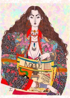 Malika - Jeremy Combot Illustration