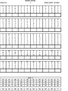 Abacus - Place Value - Hundreds, Tens and Ones Worksheets ...
