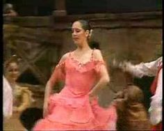 Cynthia Harvey as Kitri in Don Quixote. One of my all-time favorite dancers. She's so much more powerful than most ballerinas, and it's absolutely gorgeous.