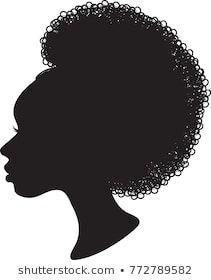 Stock Photo and Image Portfolio by Margaret Jone Wollman Black Woman Silhouette, Craft Images, Black Love Art, Silhouette Vector, African American Women, Cricut Design, Black Women, Royalty Free Stock Photos, Image Stock
