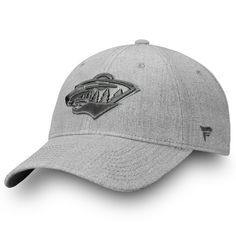 3d0ee1d5b8c855 Men's Minnesota Wild Fanatics Branded Gray Team Haze Adjustable Snapback Hat,  Sale: $16.49 - You Save: $5.50