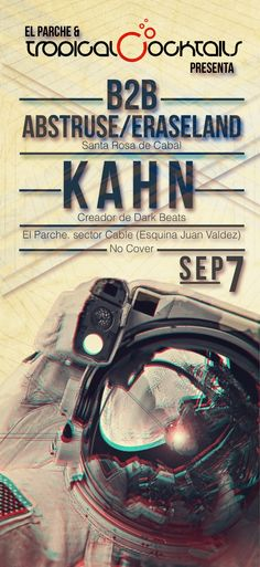 #flyer #type #Music #space #techno