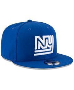 New Era New York Giants Historic Vintage 9FIFTY Snapback Cap - Blue  Adjustable Hat Day 8f79bc8b4