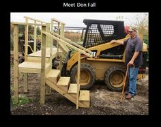 In 2014, Don Fall was involved in a car accident which left him with a broken hip. He met with Ned Stoller, an agricultural assistive technology engineer from Michigan AgrAbility to discuss solutions that would enable him to continue his work on the farm while living with chronic pain and waiting for hip replacement surgery.