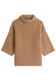 f59899d92c054 MAX MARA VIRGIN WOOL PULLOVER WITH CASHMERE