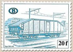 Railway Stamp: Carriage Type 3614 A5