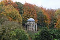 Temple of Apollo, Stourhead, Wiltshire, England.