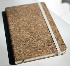 Landmade cork journal