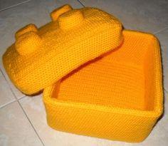 Mesmerizing Crochet an Amigurumi Rabbit Ideas. Lovely Crochet an Amigurumi Rabbit Ideas. Crochet Lego, Crochet Box, Cute Crochet, Crochet For Kids, Crochet Crafts, Crochet Dolls, Crochet Projects, Crochet Baskets, Freetime Activities