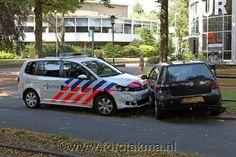 Politie rijdt vluchtauto klem in Hilversum - FotoJakma.nl