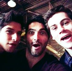 Tyler Posey, Tyler Hoechlin, and Dylan O'Brien