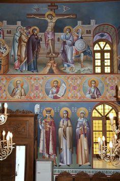 _DSC0228.tif Byzantine Icons, Byzantine Art, Life Of Christ, Church Interior, Orthodox Icons, Fresco, Style Icons, Christian, Interiors