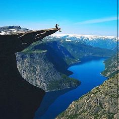 Trolltunga, Norway, photo by @tomashavel
