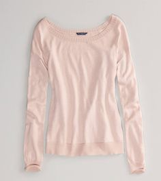 AE Lace Back Sweater