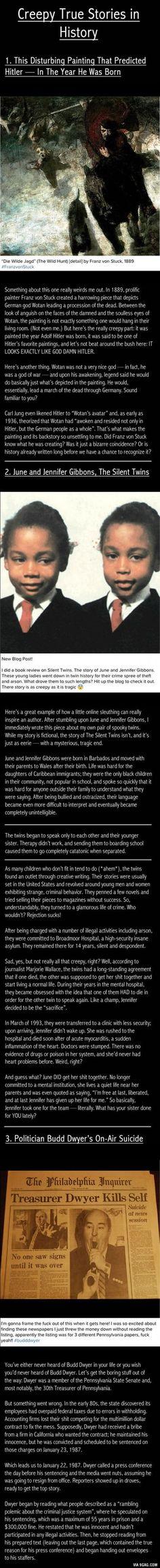Creepy Stories in History