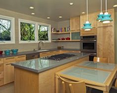 Mid Century Modern Kitchens Design, Pictures, Remodel, Decor and Ideas