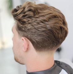Taper Fade For Thick Wavy Hair