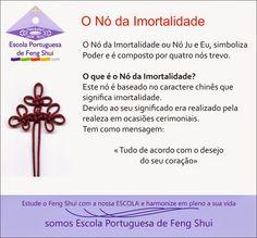 Escola Portuguesa de Feng Shui: NÓ CHINÊS DA IMORTALIDADE