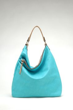 Taylor Hobo in Blue Turquoise