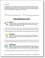 Free - Preconference Form to send home to parents prior to having a conference with them.