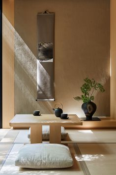 Kerry Hill Architects takes its cues from traditional Japanese architecture for Aman's new Kyoto opening Japan Interior, Japanese Interior Design, Japanese Home Decor, Japanese House, Diy Interior, Japanese Style Living Room Ideas, Japanese Decoration, Resort Interior, Kerry Hill Architects