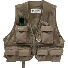 Columbia® Cool Creek Mesh Fly-Fishing Vest™ at Cabela's perfect for fishing in Summer. $80 Fly Fishing Gear, Outdoor Wear, Christmas 2019, Cool Stuff, Columbia, How To Wear, Mesh, Random, Summer