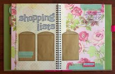 Smash Book pages by Tessa Buys, via Flickr