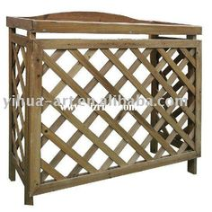 air conditioner trellis Air Conditioner Cover, Buy Wood, Terrazzo, Things To Know, Trellis, Charleston, Garden Ideas, Projects, Diy