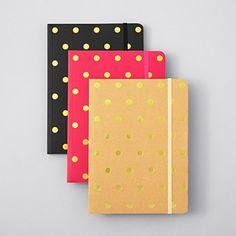Sugar Paper Polka Dot Journal  http://rstyle.me/~2rMqL